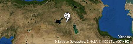 Yandex Map of 0.976 miles of Zincirkıran