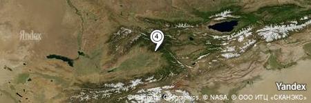 Yandex Map of 1.798 miles of Rodnik Sasyk-Bulak