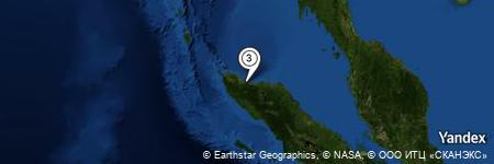 Yandex Map of 0.050 miles of Meunasah Rumpun