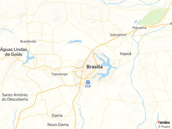 Map Brasilia، Brazil
