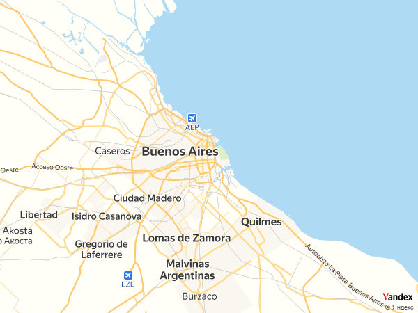 Map Buenos Aires، Argentina