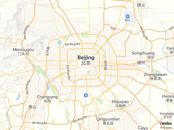 Map Beijing، China