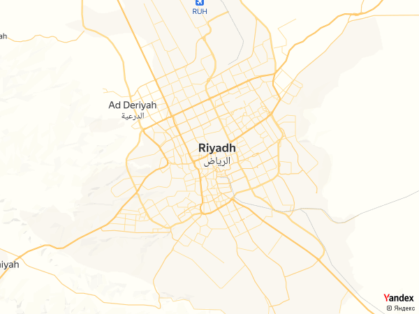 Map Riyadh، Saudi Arabia