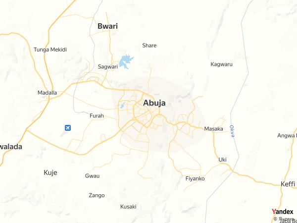 Map Abuja، Nigeria