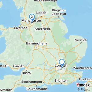 Distance London Manchester