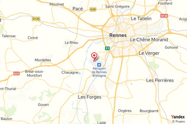 Flughafen Rennes Bretagne Flugverfolgung Live