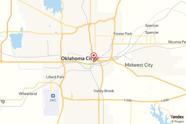 Oklahoma City Downtown Skyline Webcam Live
