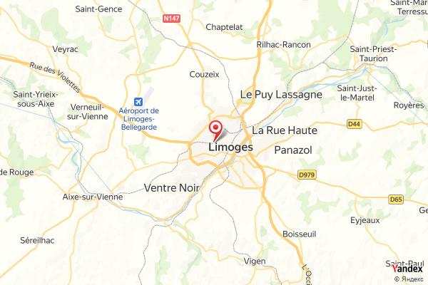 Limoges – Panoramablick Webcam Live