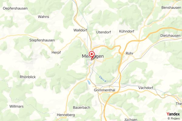 Meiningen – Panorama webcam Live