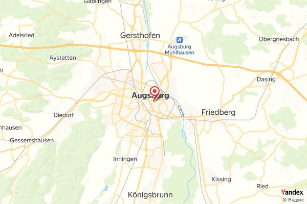 Augsburg – Rathausplatz Webcam Live