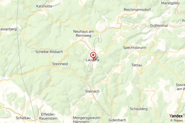 Lauscha – Oberlandstraße webcam Live