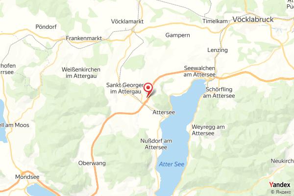 A01 West Autobahn: Bei Anschlussstelle Sankt Georgen, Blickrichtung Wien – Km 242,10 webcam live