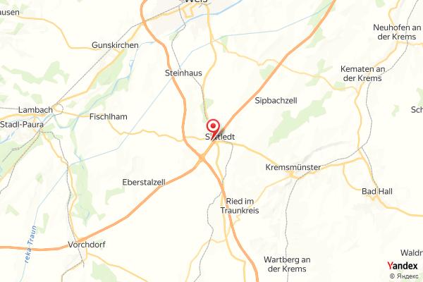 A01 West Autobahn: Bei Anschlussstelle Sattledt, Blickrichtung Wien – Km 195,07 webcam Live