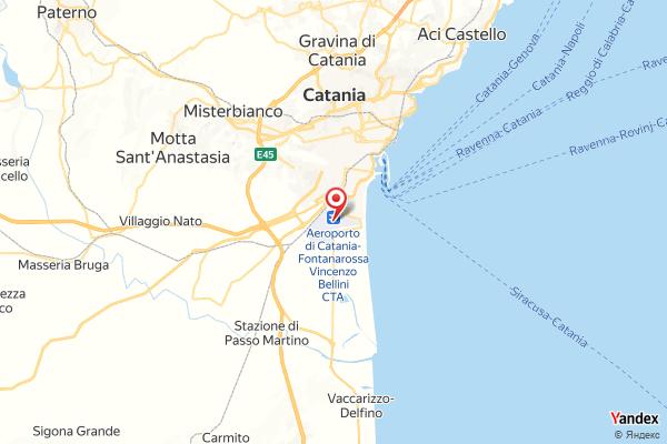 Flughafen Catania Flugverfolgung Live