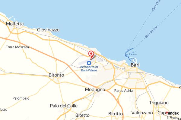 Flughafen Bari Flugverfolgung Live