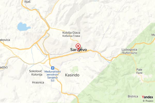 Sarajevo – Panorama Webcam Live