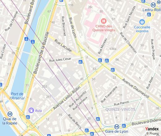 Rue de Lyon, 37, Paris, nearest metro station: Gare de Lyon ... Gare De Lyon Map on arc de triomphe map, wenceslas square map, argentina map, the london underground map, vincennes map, champ de mars map, paris map, lyon france metro map, lyon train station map, europe map, ville de lyon map,