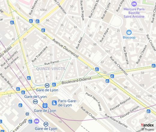 Rue Legraverend, 8, Paris, nearest metro station: Gare de ... on arc de triomphe map, wenceslas square map, argentina map, the london underground map, vincennes map, champ de mars map, paris map, lyon france metro map, lyon train station map, europe map, ville de lyon map,