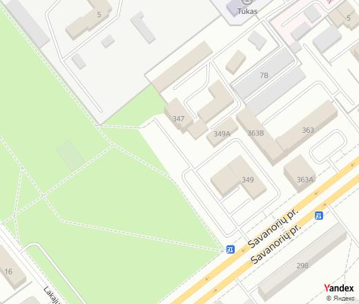 Map 347.Deimos Sfinksas Restaurant Lithuania Kauno Miestas Savanorių