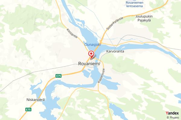 Rovaniemi – Rovakatu webcam Live