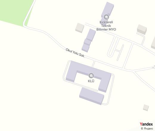 Kırklareli Tbmyo - university, college — Yandex.Maps
