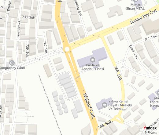 Kirklareli Anadolu Lisesi in , 23 Sungur Bey Cad. — Yandex.Maps