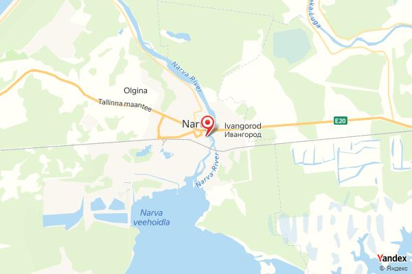 Narva Festung Iwangorod Webcam Live