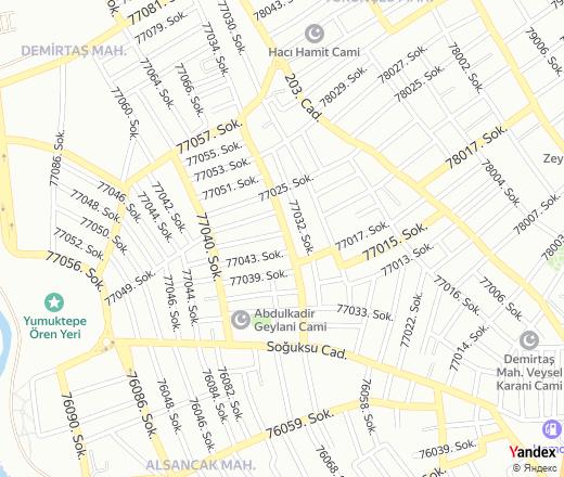 Map 77079.77047 Sok 26 Mersin Yandex Maps