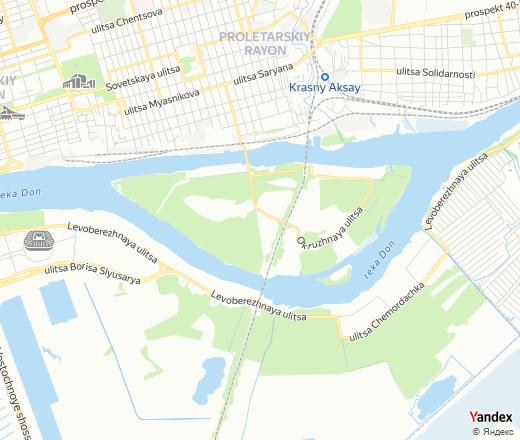 Ostrov Zeleny, Rostov-na-Donu — Yandex.Maps
