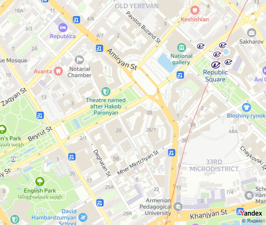 Vazgen Sargsyan Street, 26, Yerevan — Yandex.Maps on map of boulevard, map of destination, map of gear, map of region, map of mountain, map of freeway, map of weather, map of street, map of bridge, map of place, map of top, map of bay, map of course, map of circuit, map of name, map of store, map of del, map of port, map of trail, map of mall,
