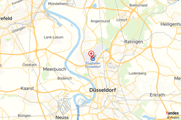 Flughafen Düsseldorf International (DUS) Webcam Live