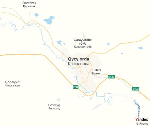 Fire department in Kyzylorda District — Yandex.Maps
