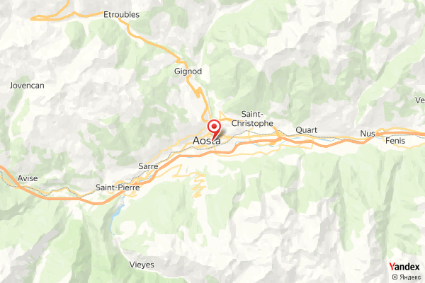 Aosta Piazza Emile Chanoux Webcam Live