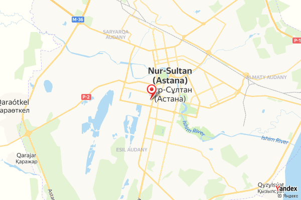 Astana – Khan Shatyr Shopping Innenkamera