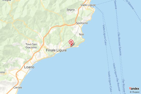 La spiaggia di Varigotti Webcam Live
