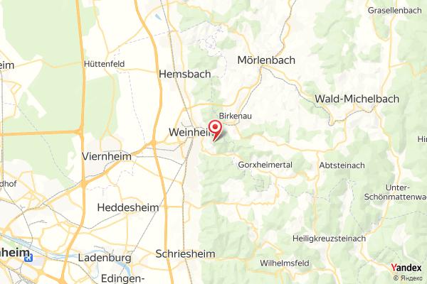 Weinheim Panorama Webcam Live
