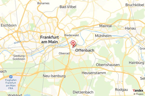 Offenbach am Main Panorama Webcam Live
