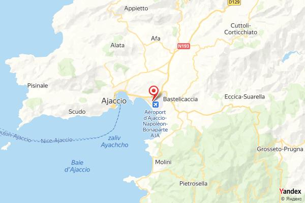 Flughafen Ajaccio Flugverfolgung Live