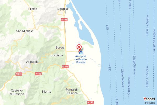 Flughafen Bastia Flugverfolgung Live