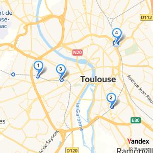 Adresse gare SNCF à Toulouse