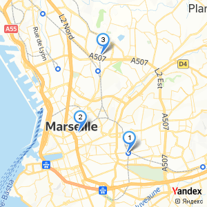 Adresse gare SNCF à Marseille