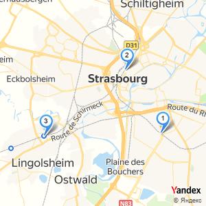 Adresse gare SNCF à Strasbourg