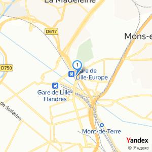 Où se situent les arrêts de bus à Lille