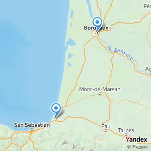 Voyage en bus Bordeaux Bayonne