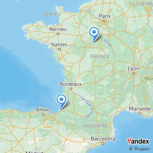 Voyage en bus Bayonne Blois