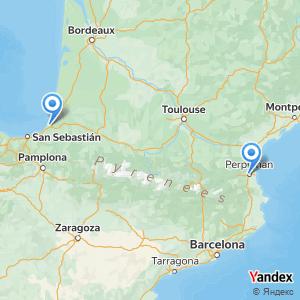 Voyage en bus Bayonne Perpignan
