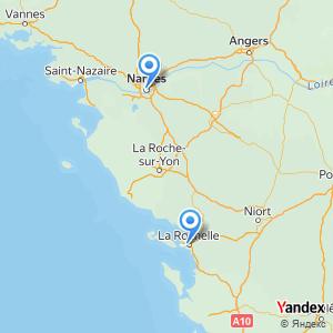 Voyage en bus Nantes La Rochelle