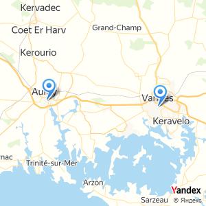 Voyage en bus Auray Vannes