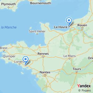 Voyage en bus Auray Le Havre