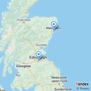 Edinburgh Aberdeen bus trip